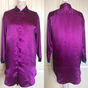 Vintage Victoria's Secret Purple Sleep Shirt
